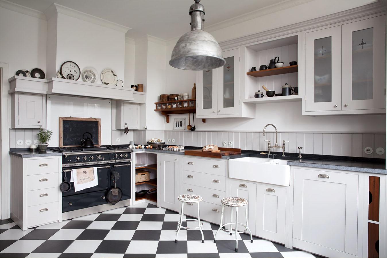 Fantastisch Walnuss Shaker Küche Bq Galerie - Küchenschrank Ideen ...